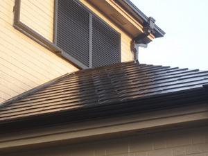 屋根塗装後 クリックで拡大